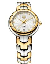 Tag Heuer Link Two-Tone Diamond Ladies Watch Wat1352.Bb0962