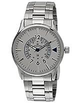 Maxima Attivo Collection Analog Silver Dial Men's Watch - 30053CMGI
