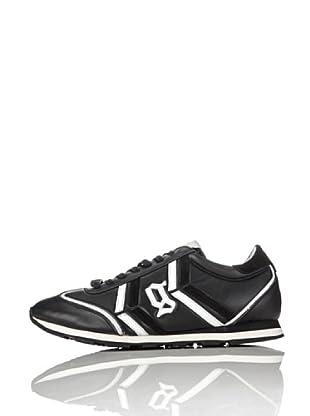 Galliano Zapatillas New Jh (Negro / Blanco)