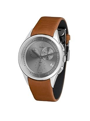 CK Calvin Klein Reloj K2A27141 piel marrón