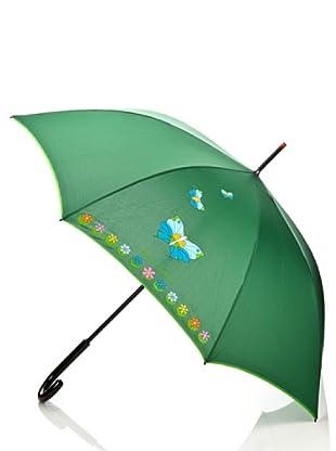 Braccialini Ombrello Farfalla verde