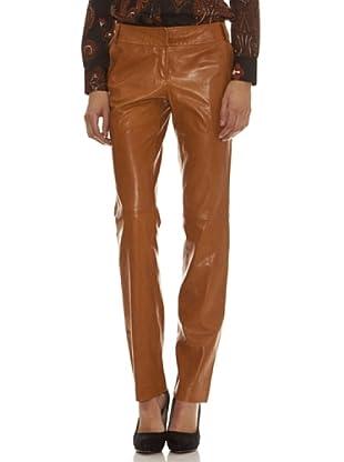 Trussardi Pantalón Piel (marrón)