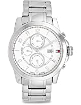 Tommy Hilfiger Analog White Dial Men's Watch - TH1791098J