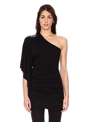Mala Mujer Camiseta Cora (Negro)