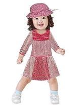 Mind The Gap Cotton Solid Girls Dress Set - Multicolour-D7-KD-019_020