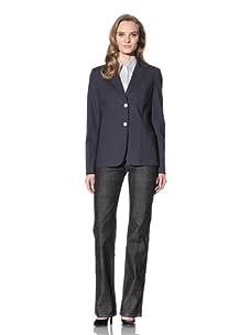 Loro Piana Women's Stitched Blazer (Infinity Blue)
