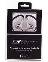 Sketcher SKF-7010-SIL Sketcher Fitness Performance Ear Buds, Silver