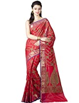 Chandrakala Cotton Silk Banarasi Saree