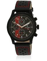 1634Nl02 Brown/Black Chronograph Watches