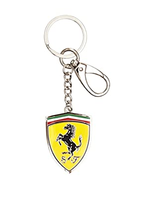 Ferrari Llavero Metal Shield (Plata)