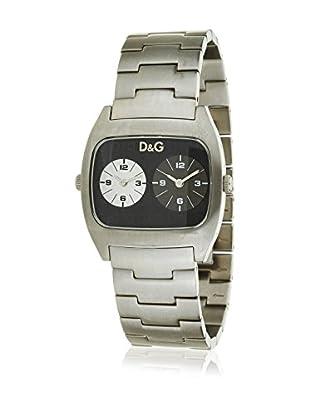 D&G Reloj de cuarzo Man DOS ESFERAS 36 mm