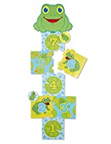 Melissa & Doug Sunny Patch Skippy Frog Hopscotch Action Game, Multi Color