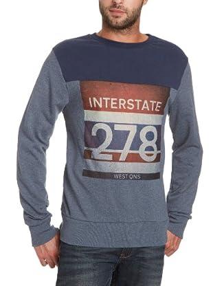JACK & JONES Sweatshirt (Azul)