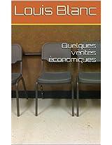 Quelques vérités économiques (French Edition)