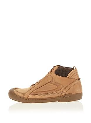 Clarks Leder Boot Moreton Way (Braun)