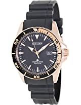 Citizen Eco-Drive Analog Black Dial Men's Watch BN0104-09E