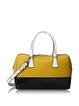 Charles Jourdan Women's Dara Satchel, Yellow