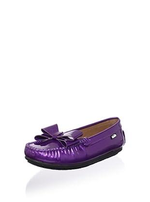 Venettini Kid's Violet Loafer (Purple Pearlized)