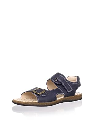 Pablosky Kid's Buckle Sandal (Navy)
