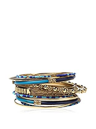 Amrita Singh Brazalete Marseille 10-Pc Bangle Set