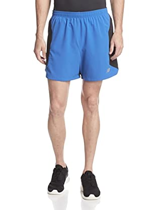 New Balance Men's 5-Inch Impact 2-in-1 Utility Run Shorts (Cobalt)