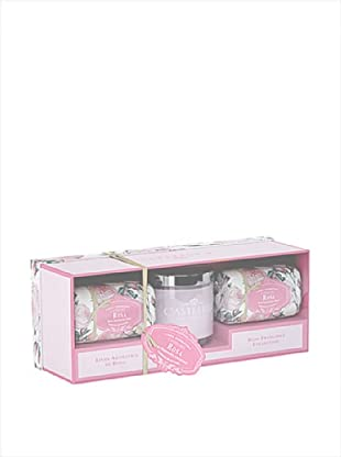 Castelbel Ambiante Rose Soap & Candle Gift Set