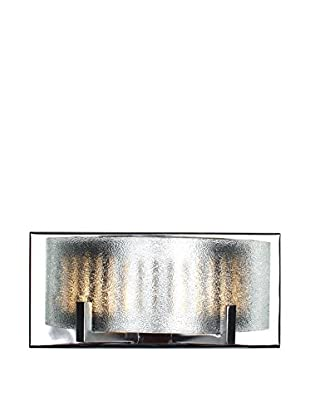 Alternating Current 2-Light Firefly Bath, Chrome