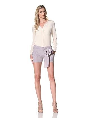 Susana Monaco Women's Zina Shorts (Gull)