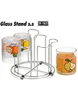 Regan Stainless Steel Glass Stand