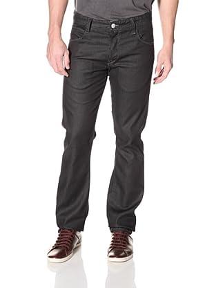 Mondo di Marco Men's Slim Fit Jean with Colored Selvage (Dark Indigo)