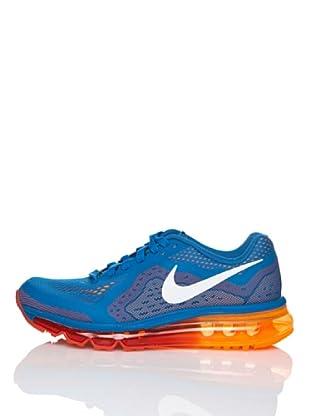 Nike Zapatillas Running Air Max 2014 (Gs) (Azul / Naranja)
