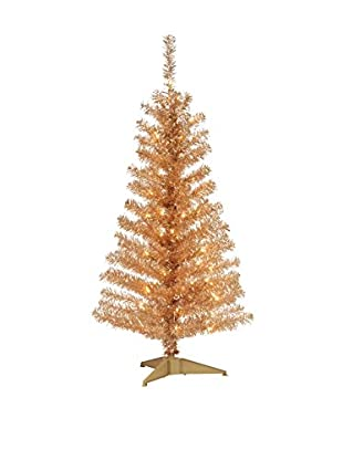National Tree Company 4' Champagne Tinsel Tree