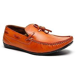 Brutsch Tan Men Loafers - G23