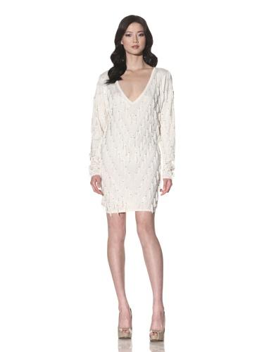 Foley + Corinna Women's Tassel Sweater Dress (Ice)