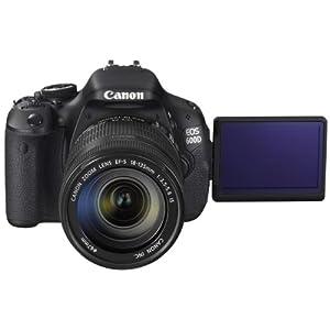 Canon EOS 600D SLR Camera-Black