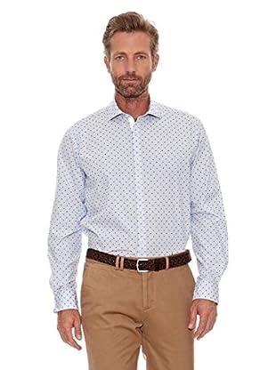 Cortefiel Camisa Máquina (Blanco)