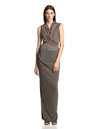 Rick Owens Lilies Women's Wrap Skirt (Dark Dust)