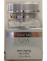 Dead Sea Spa Silver Edition Anti Aging Eye Cream 1 Fl. Oz.