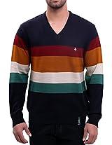 Lamode Five Special Colour Sweater(LA00218XL-M_Multicolor_X-Large)