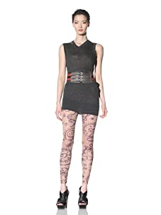 McQ by Alexander McQueen Women's Tattoo Leggings (Pink)