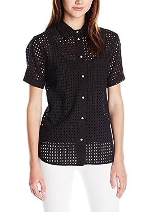 Love Token Women's Ava Short Sleeve Button Down