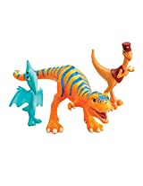 Learning Curve Dinosaur Train Collectible Dinosaur 3 Pack - My Friends Are Bipeds: Dolores, Mr. Conductor And Shiny