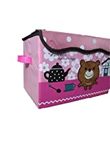 Baby kid Toy storage box / Laundary Box - Easily washable, foldable, colourful & attractive