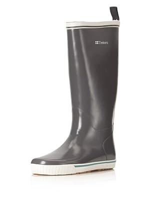 Tretorn Women's Skerry Reslig Rubber Boot (Charcoal Gray)