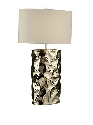 Nova Lighting Cera Table Lamp, Chrome