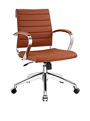 Modway Jive Mid Back Office Chair (Terracotta)