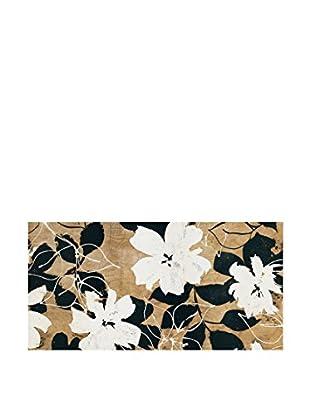 ArtopWeb Panel de Madera Cailler Ensemble de Fleurs