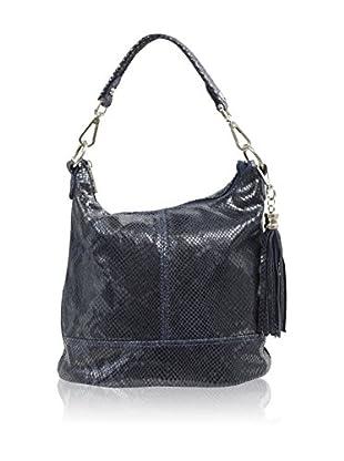 Carla Belotti Bolso asa al hombro Handbag Penelope Navy