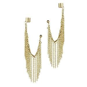 Trinketbag  Stud Earring For Women (Gold)