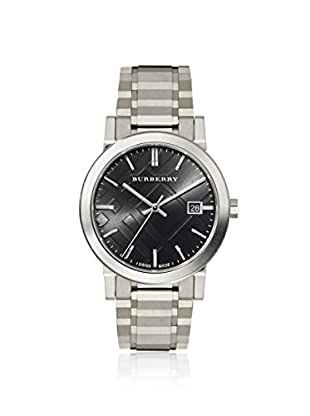 Burberry Men's BU9001 The City Silver/Black Stainless Steel Watch
